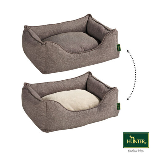 Hunter Boston Hundeseng Brun