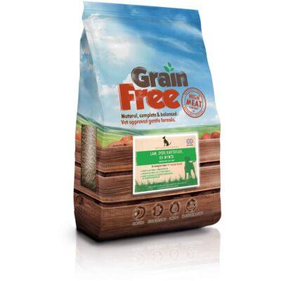 100% kornfrit hundemad fra Det Gode Hundemad. 50% kød indhold BARF
