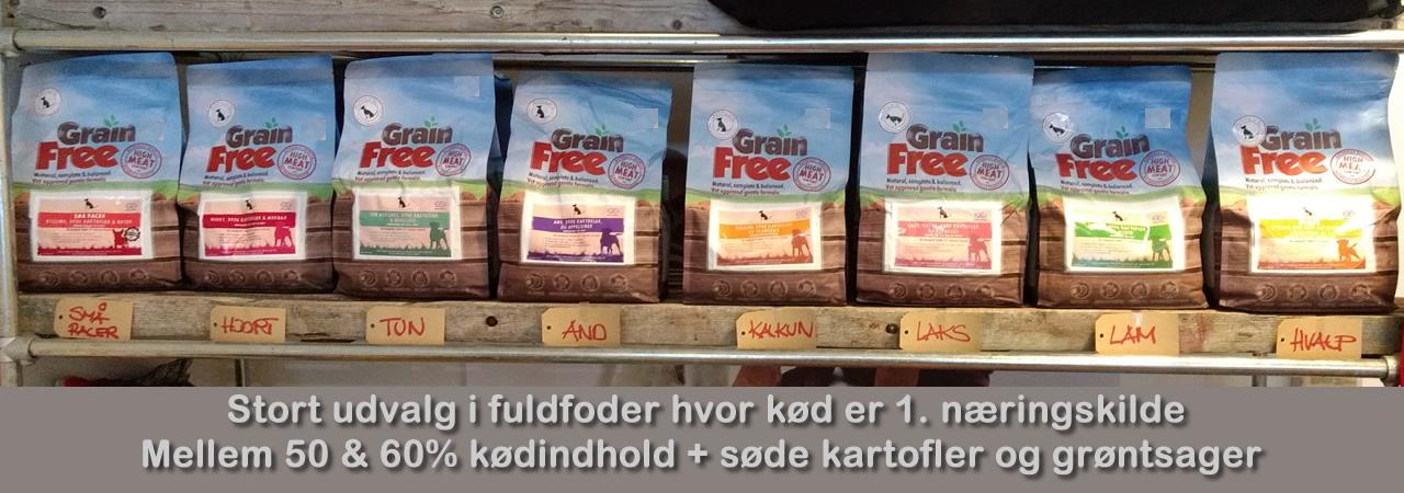 Kattemad fra Arthurs Råt & Godt BARF i Hørsholm.