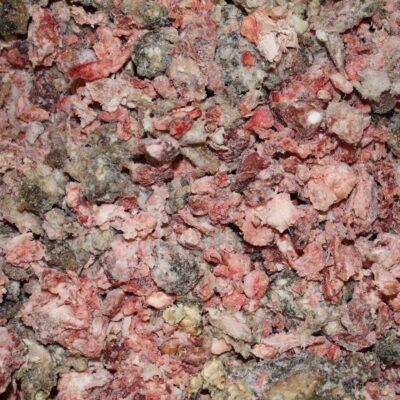 Oksefuldfoder fra Kragborg er komplet barf til hunde og katte. Fra Arthurs Barf i Hørsholm