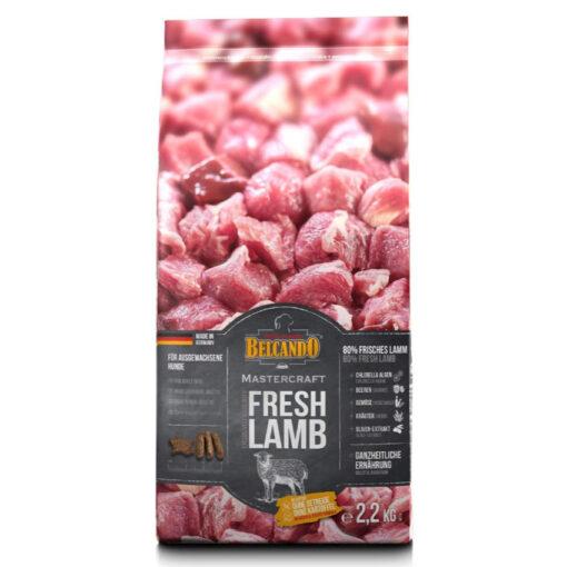 80% frisk Lamme kød - ingen tilsætningsstoffer. Eksklusiv forhandler