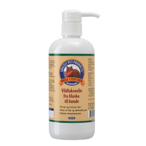 Grizzlye Vildtlakseolie får du hos Arthurs Barf i Hørsholm. Fyldt med sunde omega 3 og omega 6