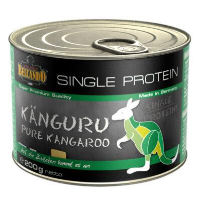 Super lækkert dåsemad med kun 1 type kød i, single protein kaldes det også. Fås hos Arthurs Barf i Hørsholm