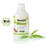 Anibio 100% naturlig Hampolie til hunde og katte