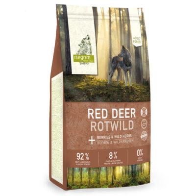 Isegrim Forest, Adult, Red Deer 3 kg. til voksen hund, 92/8/0 høj mængde kød, uden korn, med grønsager