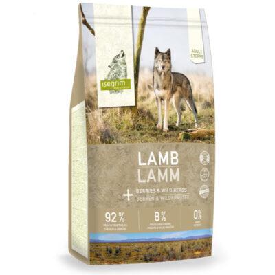 Isegrim Steppe, Voksen hunde, lam, 92/8/0 høj mængde kød, uden korn, med grønsager fra Arthurs Barf i Hørsholm