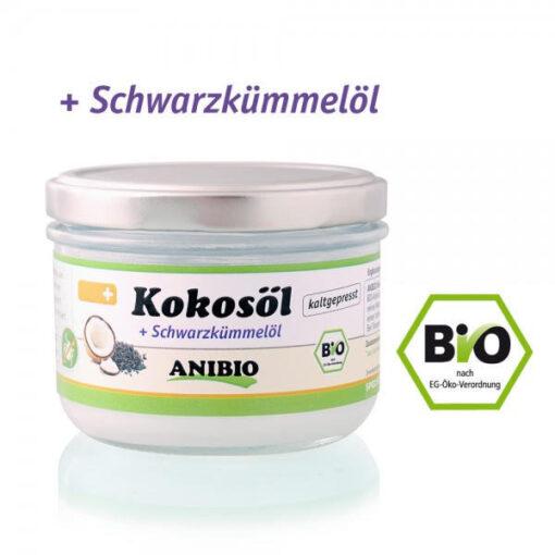 Økologisk kokosolie fra Anibio hos Arthurs Barf i Hørsholm Til hunde og katte.