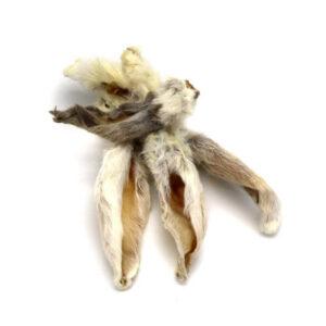 Kanin Ører med pels fra Arthurs Barf i Hørsholm