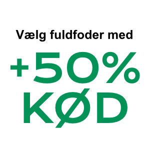 +50% Kød