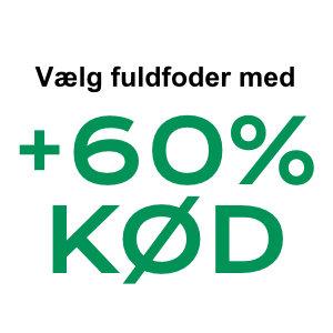 +60% Kød