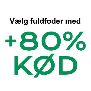 +80% Kød
