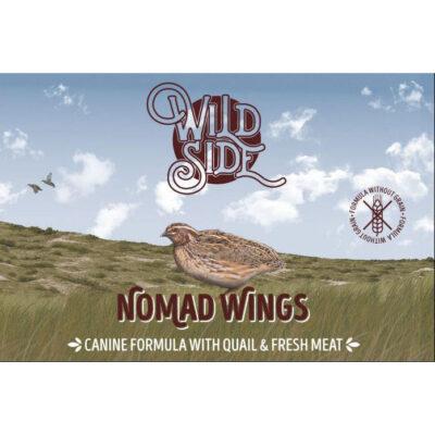 Wild Side Nomad Wings Waters fuldfoder uden korn fra Arthurs Barf i Hørsholm